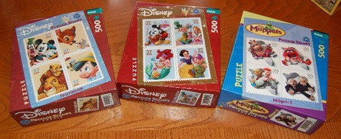 stamp puzzles