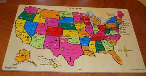 United States puzzle