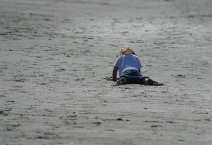 lu in sand